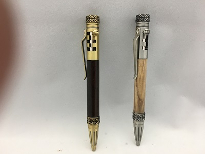 Gearshift Bolt Action Pens